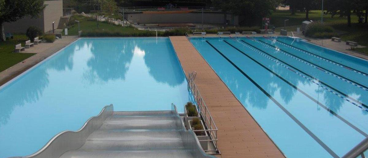 Gartenbad Freibad Nichtschwimmerbecken