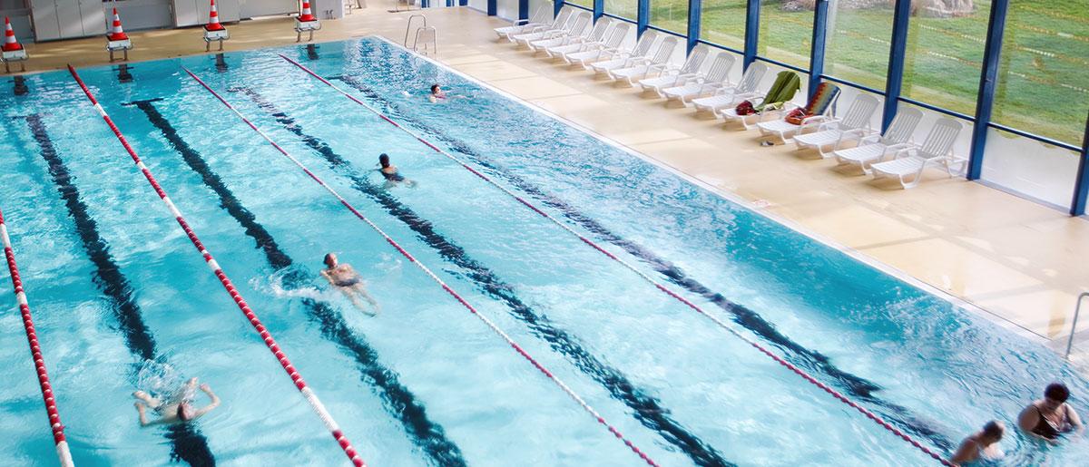 Schwimmerbecken Hallenbad Gitterli