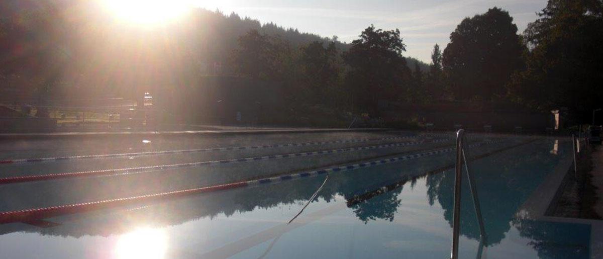 Freibad Schwimmerbecken